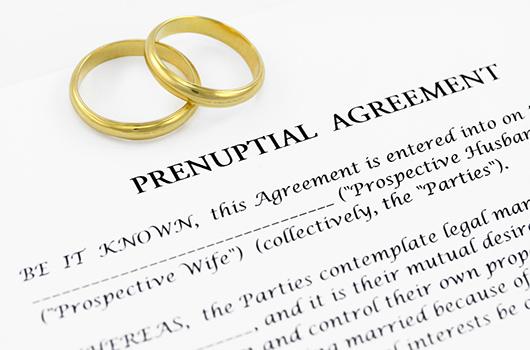 Protégete con un acuerdo prematrimonial