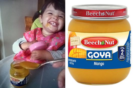 Beech-Nut y Goya lanzan línea de comida de bebé con sabores hispanos-MainPhoto