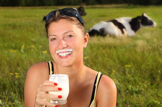 Los beneficios de los lácteos en la dieta de mamá