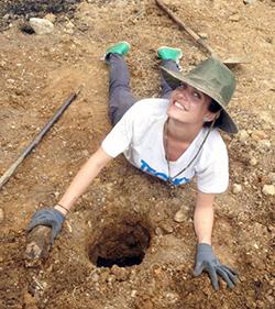Una voluntaria de TECHO comparte su experiencia-Photo2
