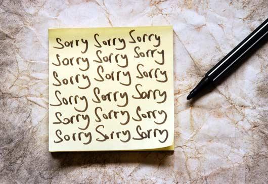 12 excusas que damos para evitar decir Lo siento-MainPhoto