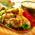 Alitas de pollo jalapeño con piña y salsa-SliderPhoto