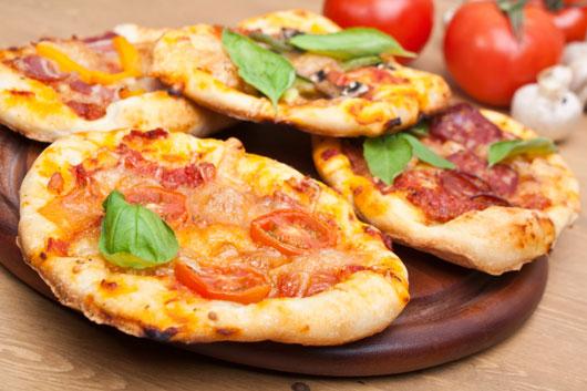 Pita pizza - Notitarde