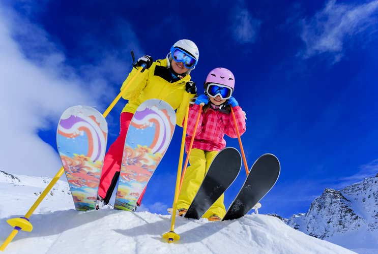 15 razones por las que tu familia debe aprender snowboard for Warm winter family vacations
