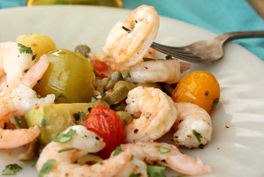 Lenten Recipes Baked Shrimp Veracruz-MainPhoto