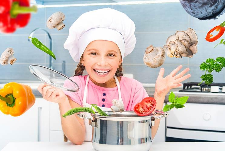 Cocina infantil 10 recetas para ni os que hacen que - Cocinas para cocinar ...