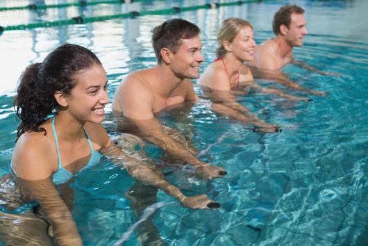 Aqua Cycling, ejercicios en el agua y otros ejercicios peculiares para probar-Photo3