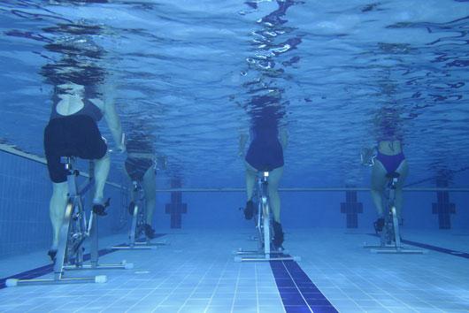 Aqua Cycling, ejercicios en el agua y otros ejercicios peculiares para probar-Photo2