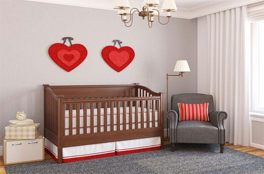 Ideas de cuartos para beb s para beb s con padres que no for Ideas para cuartos de bebes