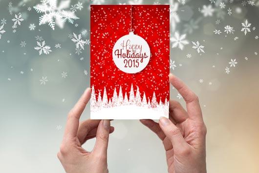 10 Ideas Para Tarjetas De Navidad Que No Son Tarjetas Mamiverse - Ideas-para-tarjetas-de-navidad