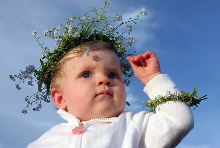 15 nombres populares de bebés que son más locos que Saint-MainPhoto