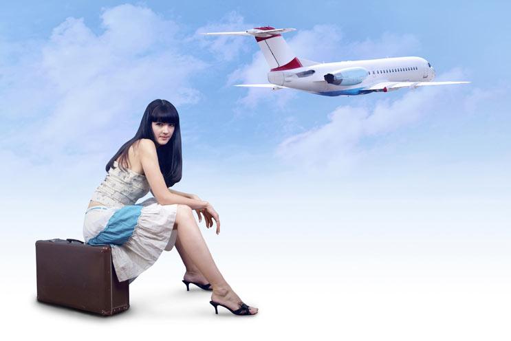 Etiqueta para viajar en avión Por el bien de todos-MainPhoto