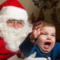 How to deal with your child's fear of Santa Claus