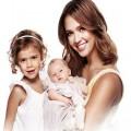 Jessica Alba and Kids