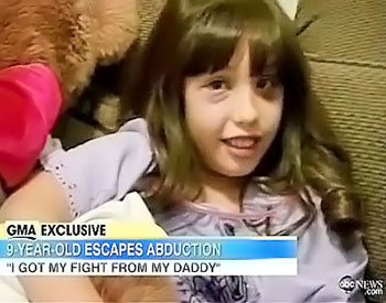 Teach Kids How to Fight Possible Abduction