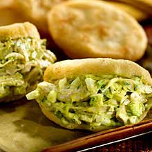 Arepa with Chicken & Avocado