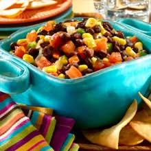 Black Bean Salsa with Corn