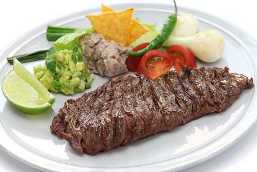 Grilled Skirt Steak with Rosemary & Thyme Chimichurri Sauce ...