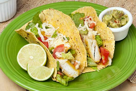 Mario Lopez's Fish Tacos With Avocado & Bean Salsa-MainPhoto