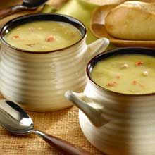 Quick Ham & Pea Soup