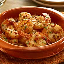 Spanish Garlic Shrimp