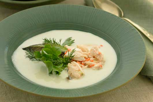 Portuguese White Gazpacho with Crab-MainPhoto