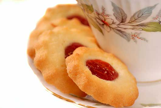 Leticia Moreinos Schwartz's Guava Thumbprint Cookies-MainPhoto