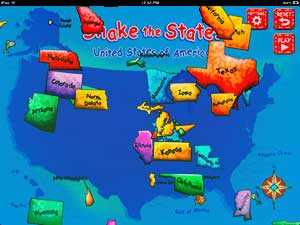 science apps Shake the States