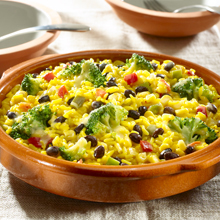 GOYA-Garden Vegetable Rice with Black Beans