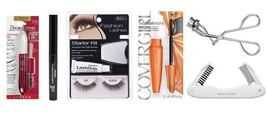 mascara, eyelashes