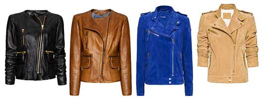 fall trends, leather jacket