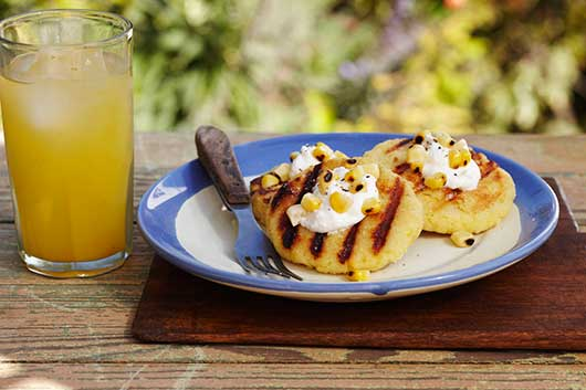 Grilled Arepas with Farmer's Cheese-MainPhoto