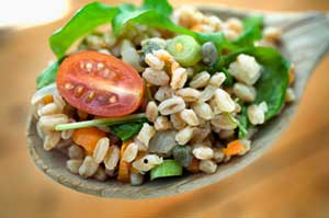 Back-to-School: Healthy Whole Grains for the Lunchbox-Farro Salad