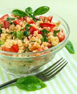 Back-to-School: Healthy Whole Grains for the Lunchbox-Couscous Salad