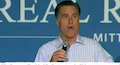 Mitt Romney Heckled During Ohio Rally