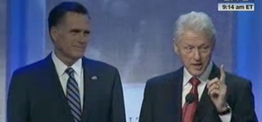 Romney: A few words from Bill Clinton