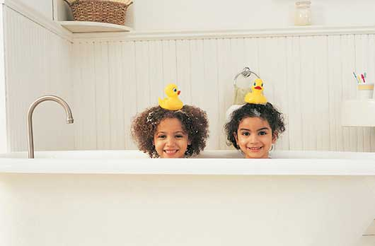 When are Kids too Old to Bathe Together?