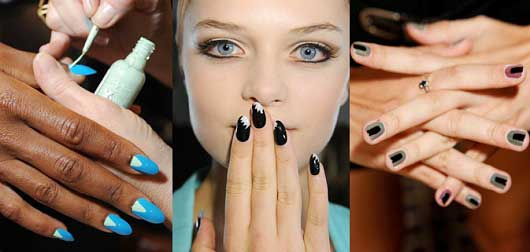 New Trends in Nail Art-Drawing