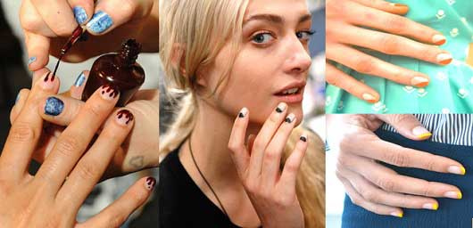 New Trends in Nail Art-Textures