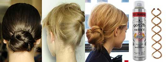 Holiday Hairstyles for Every Occasion-Buns