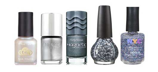 Top Nail Colors for the Holidays-Sliver