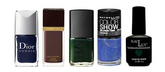 Top Nail Colors for the Holidays-Blues