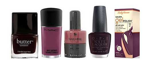 Top Nail Colors for the Holidays-Vampy