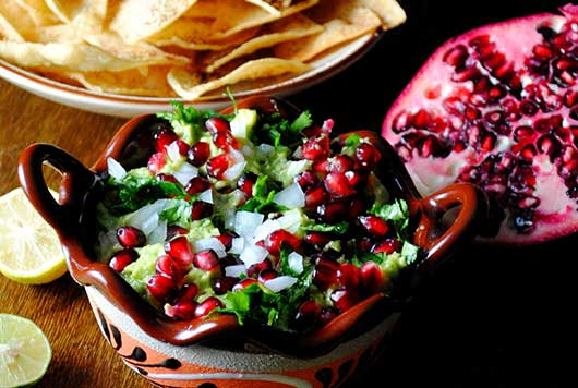 Festive Guacamole & Spicy Baked Tortilla Chips-MainPhoto