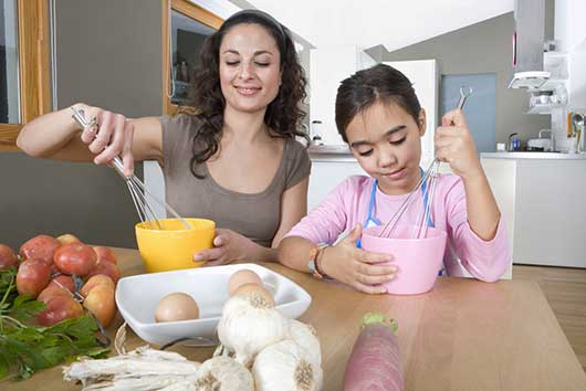 Getting Kids To Cook: Easy Steps To Raising A Lil' Chef