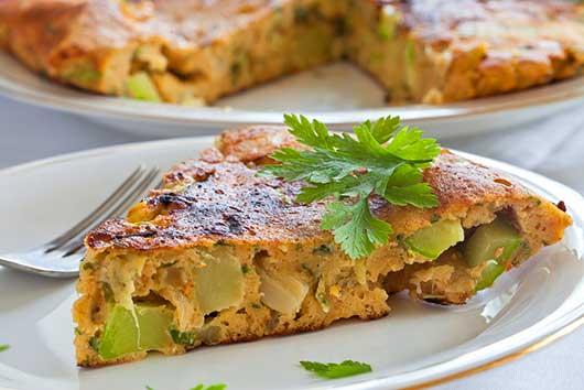 Tortilla de Calabacín-Zucchini Omelet-MainPhoto