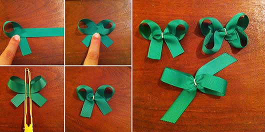 Darling DIY: Unique Mexican Inspired Bows-Instructions