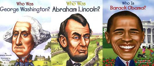 Kids Books for Presidents' Day-Who Was Series