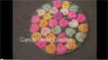 DIY Conversation Hearts Coaster