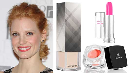 Oscar-Worthy Hair & Makeup—Without a Celebrity Stylist!-Jessica Chastain
